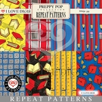 Preppy Pop Repeat Patterns #9 - 16