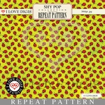 Shy Pop Repeat Pattern #10 Ladybugs