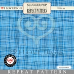 Slugger Pop Repeat Pattern #9 Plaid