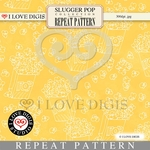Slugger Pop Repeat Pattern #11 Popcorn