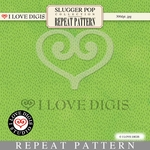 Slugger Pop Repeat Pattern #17 Grass - Spring