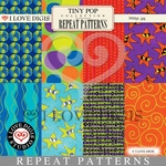 Tiny Pop Repeat Patterns #1 - 8