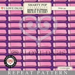 Smarty Pop Repeat Pattern #11 Erasers