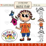Cutie Pop Digital Stamp