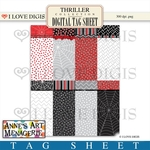 Thriller Digital Tag Sheet