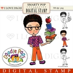 Smarty Pop Digital Stamp