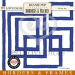 Beanie Pop Borders & Frames