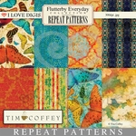 Flutterby Everyday Repeat Patterns #1 - 8