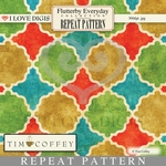 Flutterby Everyday Repeat Patterns #22 Geometric Multi