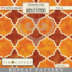 Flutterby Fall Repeat Patterns #17 Geometric