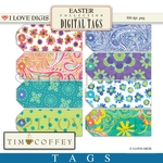Easter Digital Tags