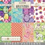 Easter Digital Repeat Patterns - 1