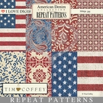 American Denim Repeat Patterns #1-8