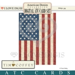 American Denim Digital ATC Cards #3