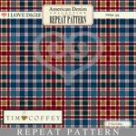 American Denim Repeat Patterns #14 - Plaid