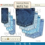 American Denim Digital Tags - Denim Pockets