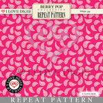 Berry Pop Repeat Pattern #14 Paisley