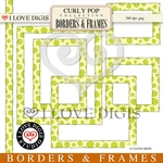 Curly Pop Borders & Frames