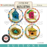 Cutie Pop Buttons #2