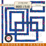 Cutie Pop Borders & Frames